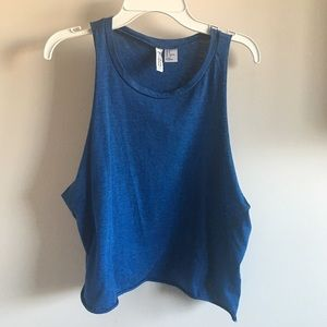 H&M Blue Muscle Tee